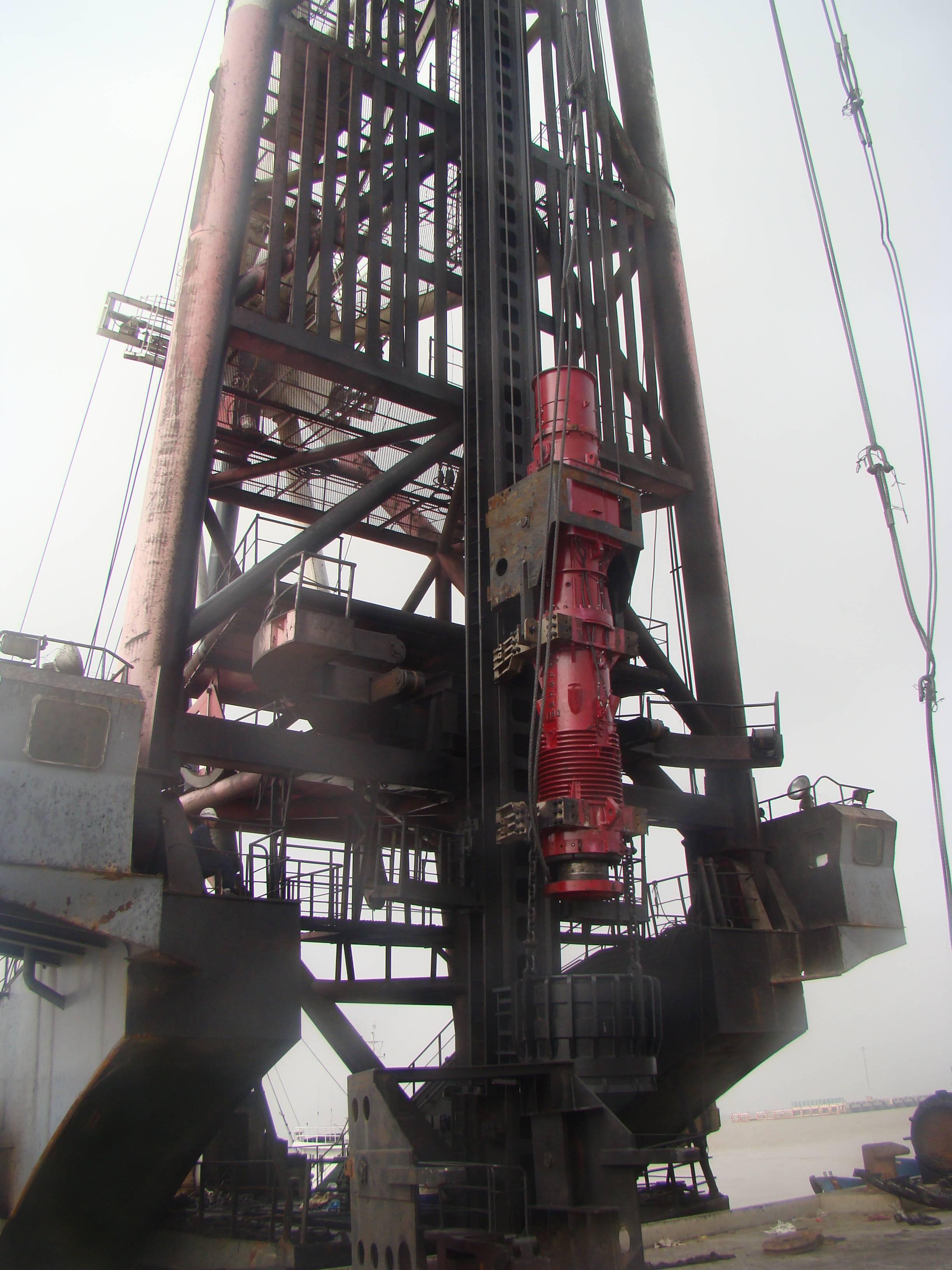 Hot-selling Semw D36 Diesel Pile Hammer - D260 DIESEL PILE HAMMER – Engineering Machinery