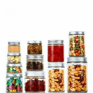 Glass Straight Sided Mason Canning Jars