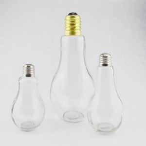 Bulb Glass Beverage Drink Bottle