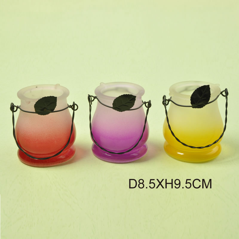 Frosted Color Gradient Candle Holder Featured Image