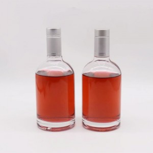 Screw Cap Glass Liquor Bottle