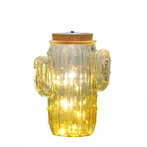 Cactus-shaped Decoration Glass Lights