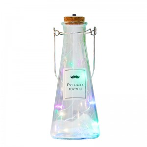 Pudding Jelly Bottle Decoration Glass Light