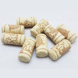 Straight Cork Stoppers for Wine