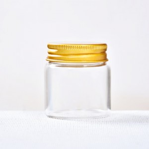 Tube Vials With Aluminum Screw Cap (D47)