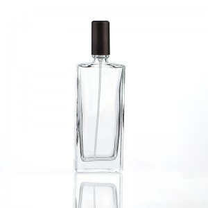 50ML Portable Flat Glass Spray Perfume Bottle