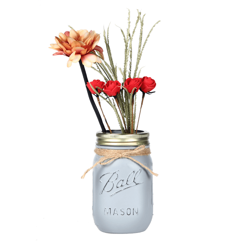 Mason Jar Vase Featured Image
