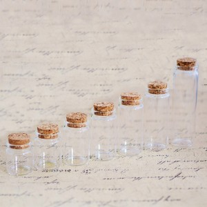 Bayonet Tube Vials with Cork Stopper(D37)