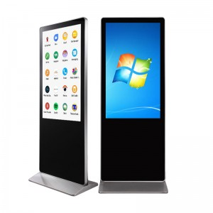 HOT Touch screen 43 inch floor stand digital signage LCD advertising panel poster