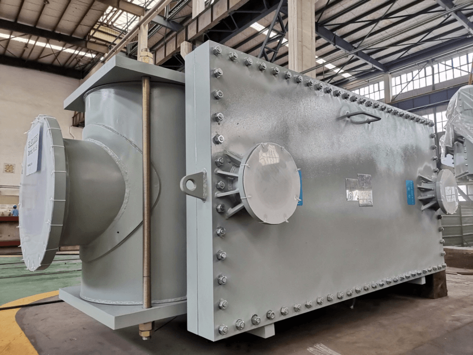 SHPHE two TP heat exchangers were successfully delivered