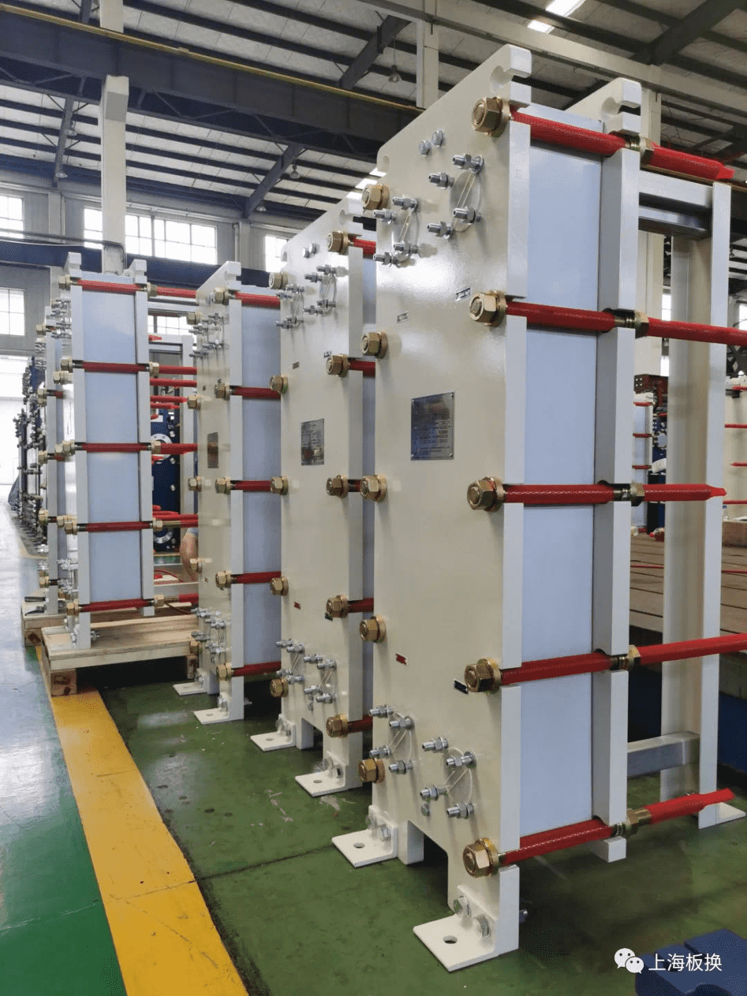 Plate Heat Exchangers with CE mark were successfully delivered