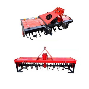 Three point hitch tiller /3 4 5 6 7 ft rotary tiller for sale