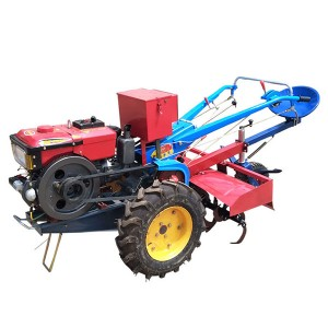 15hp walking tractor tiller/mini walking tractor/farm two-wheel tractor/two wheel tractor manufacturers/electric walk behind tractor
