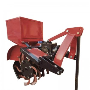 Tractor Mounted Ditching, Fertilizer And Soil Burying Machine