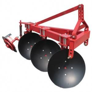 Disc plough  for 3 point hitch tractor