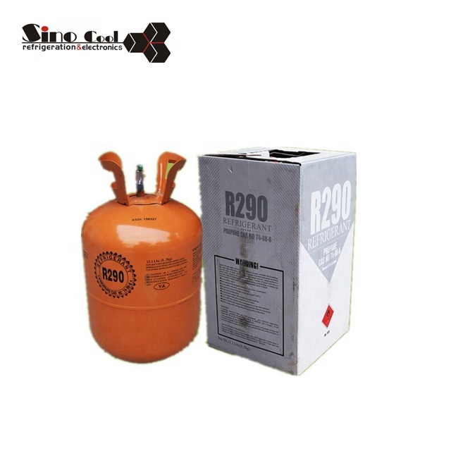 Good price 5KG R290a Refrigerant Gas With Purity 99.5%