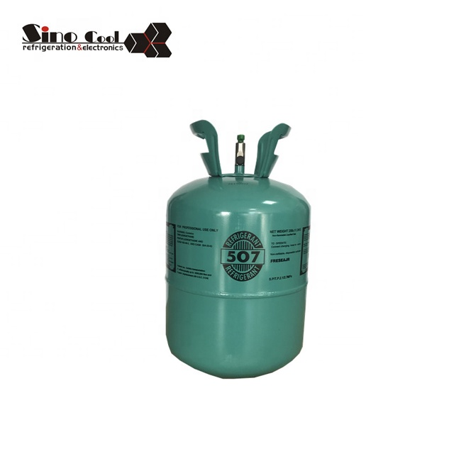 Good price for 11.3KG 507 refrigerant gas r507