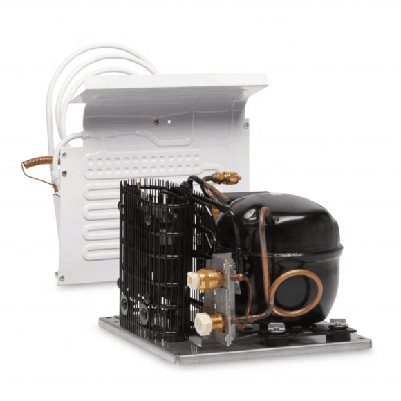 compressor condensing unit for showcase