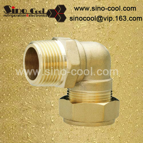 90 female & copper elbow brass fittings plumbing
