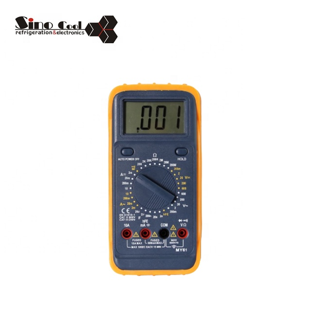 my61 digital multimeter manual with CE certification