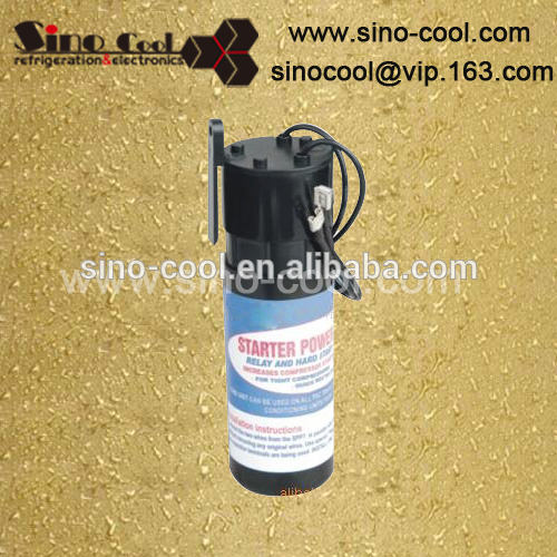 a/c relay and hard start capacitor SPP5 for tight compressors low votage