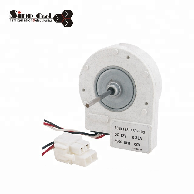 Wholesale refrigerator shaded pole DC white fan motor