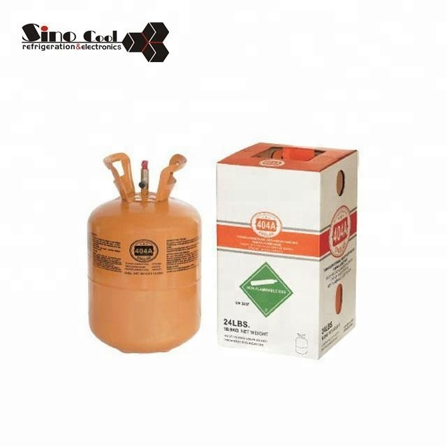 Refrigeration spare parts R404A refrigerant gas