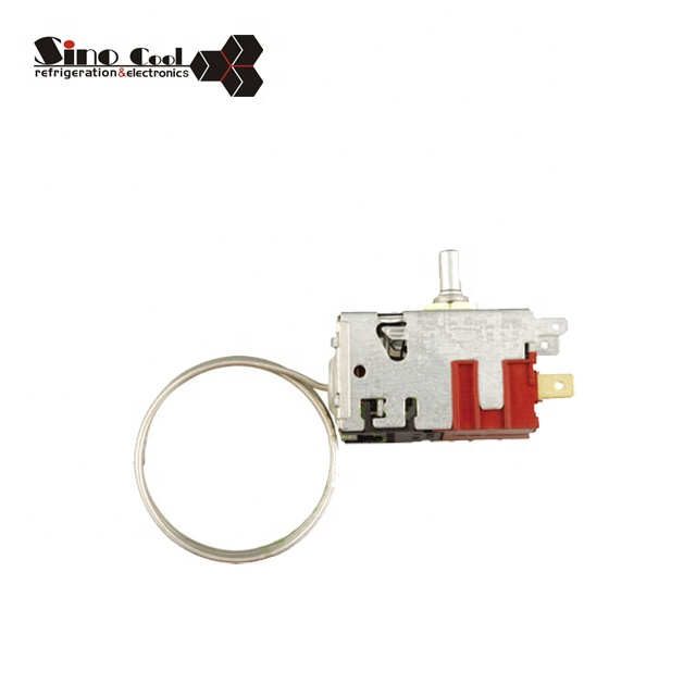 Refrigerator 077B0023 Thermostat WPF Universal Capillary Thermostat