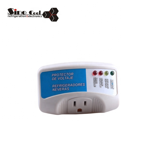 High quality Refrigerator surge protector with LED display time delay,voltage protector