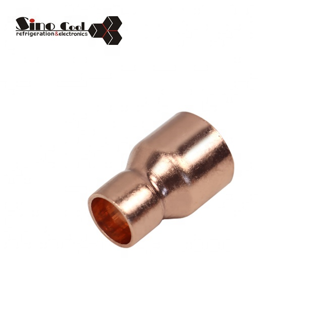 Copper Reducing Coupling For Refrigerator And Air Conditioning Copper Tube Fitting