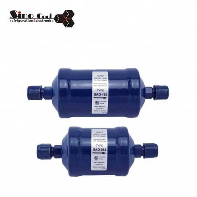 SAD Series drying refrigerant filter drier Manufactory