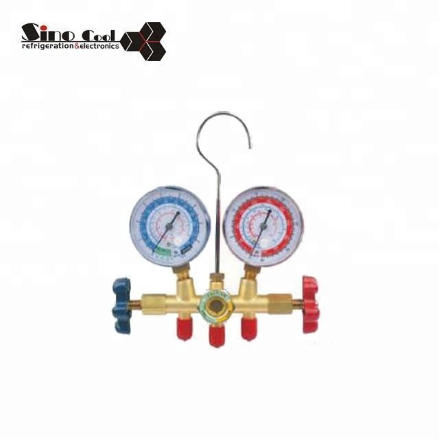 Manifold high pressure gauge