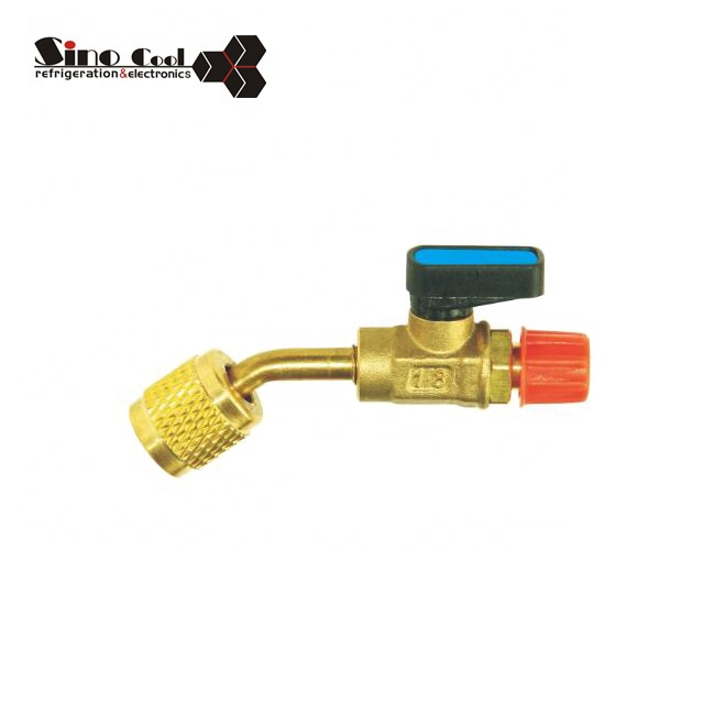 Filling Ball Valve of Refrigeration Parts Air Conditioner Valve for sale