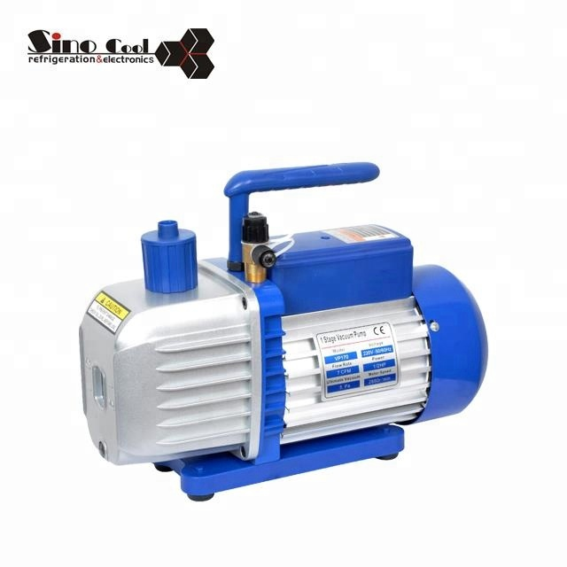 Dual stage VP215 refrigeration air pump HVAC AC vacuum pump
