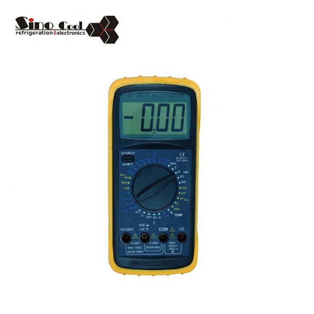 DT5807 analog multimeter