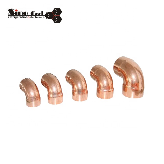 90 elbow copper pipe fitting
