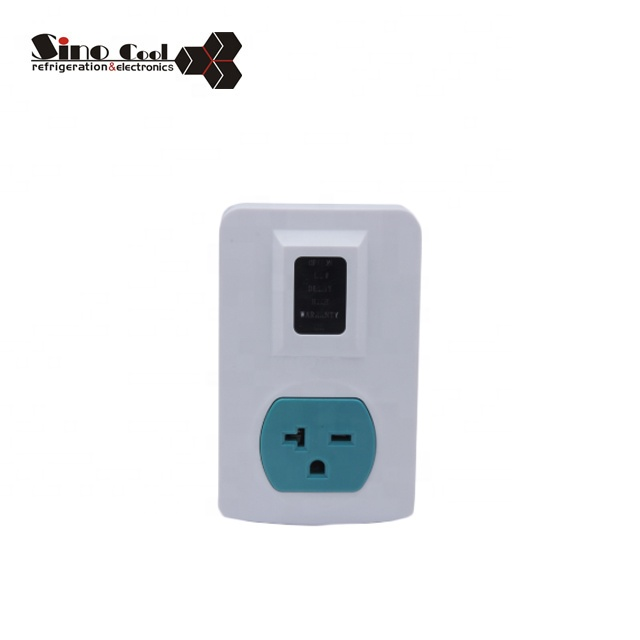 Hot sale Single outlet time delay high quality voltage protector 220V
