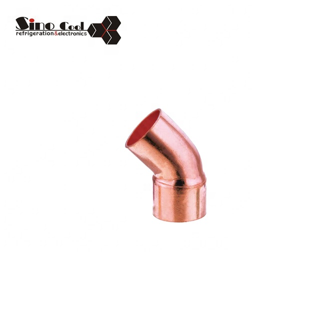 45 female & copper elbow brass fittings plumbing