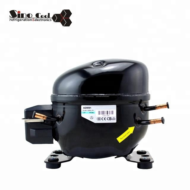 Refrigerator spare parts R134a Series ADW91 refrigeration compressor for refrigerator