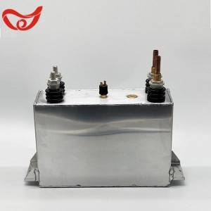 square water cooled electric heating capacitor