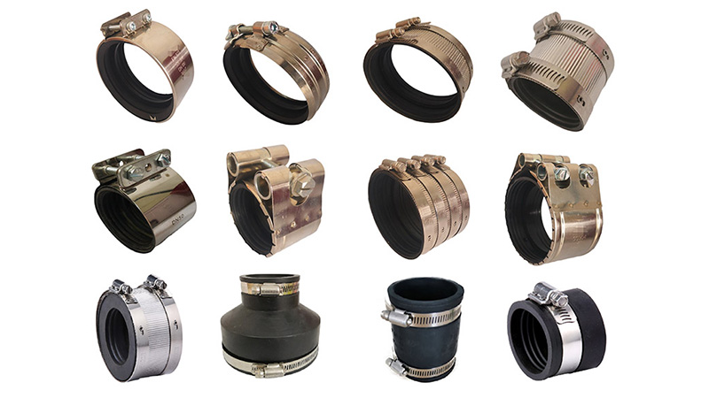 Stainless Steel Couplings with Gaskets