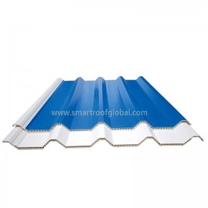 PVC Hollow Roof Corrugated Plastic Roofing