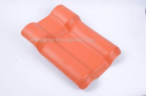 Synthetic Resin Roof Tile For House Roofing