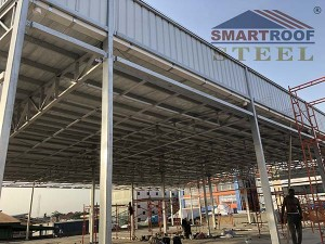 Corrugated Steel Roofing
