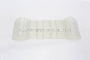 Clear Corrugated Plastic