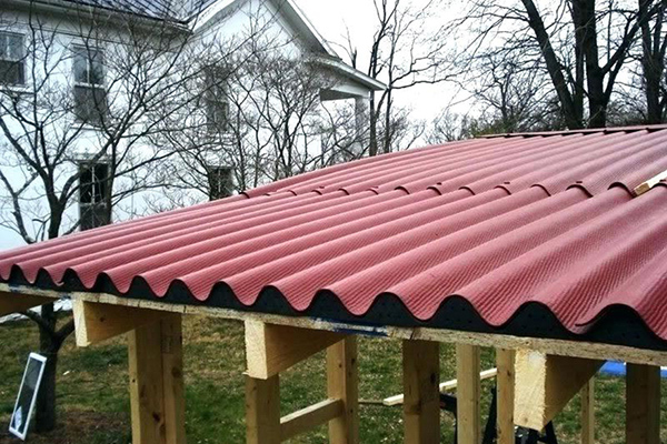 How to Install Corrugated Plastic Roofing