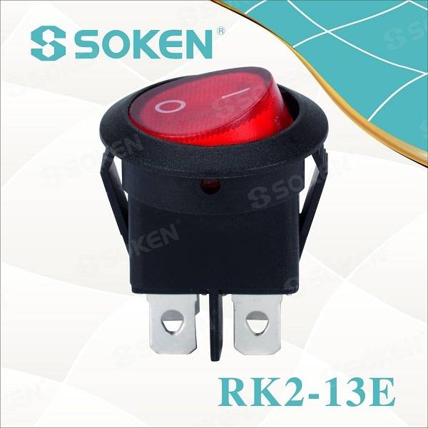 8 Years Exporter Rocker Switch Momentary -
