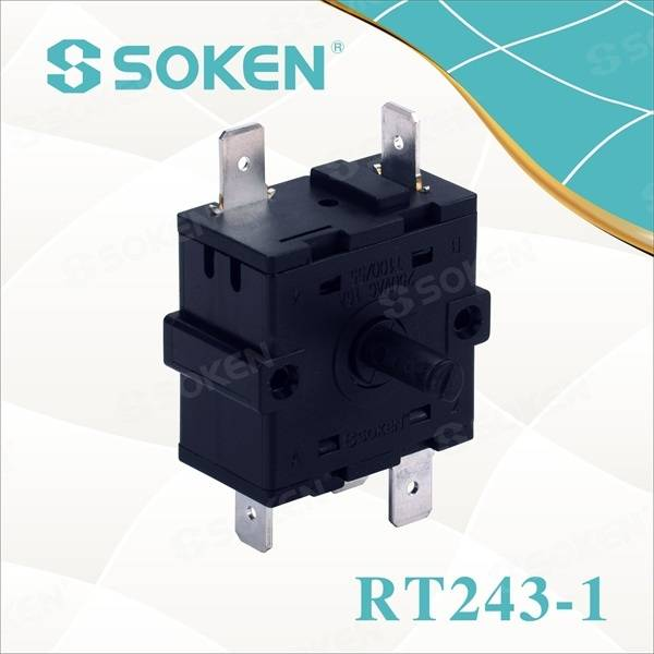 5 Position Rotary Switch for Heater (RT243-1)
