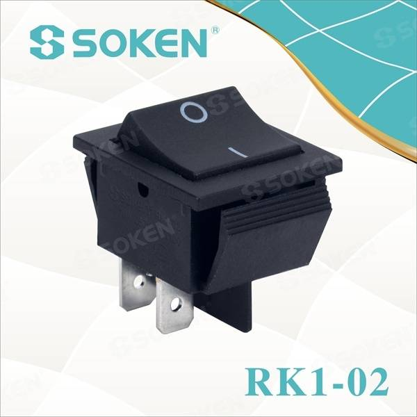Automotive Dpst Fuqia Rocker Switch