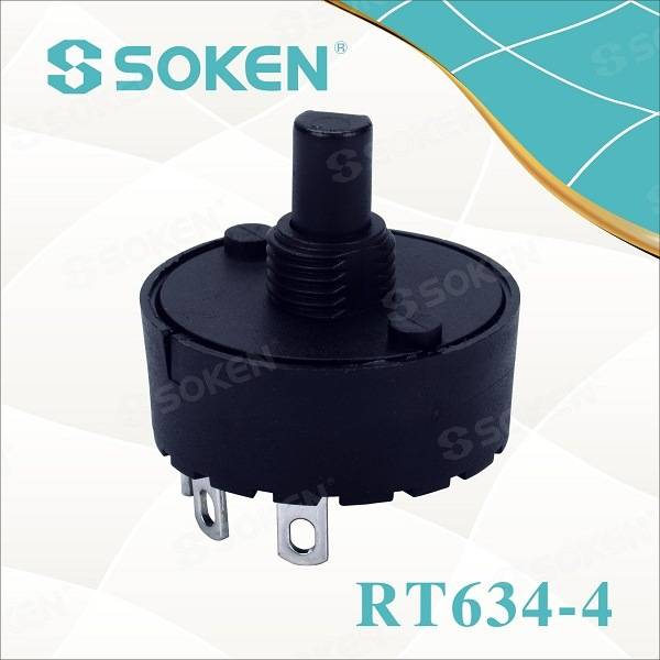 Blender 5 Position Rotary Switch 6 (4) a 250V T85